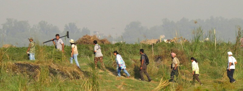 DelhiBirders at Yamuna Khadar, Delhi -- Photo by Tapas Misra-800px