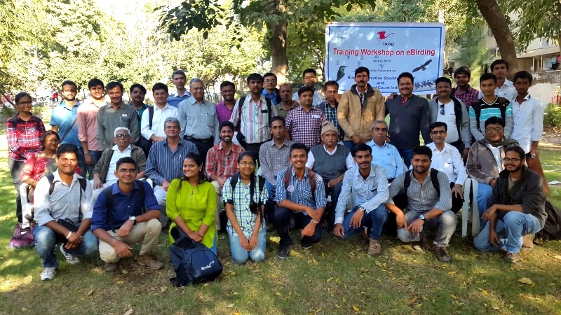 Workshop participants at Ahmedabad, 9 Feb 2015. Organized by BCSG. Photo courtesy Kartik Shastri.