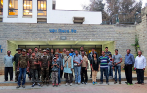 Participants for the CBC Walk in IIM Bangalore, Pic: Deepa Mohan