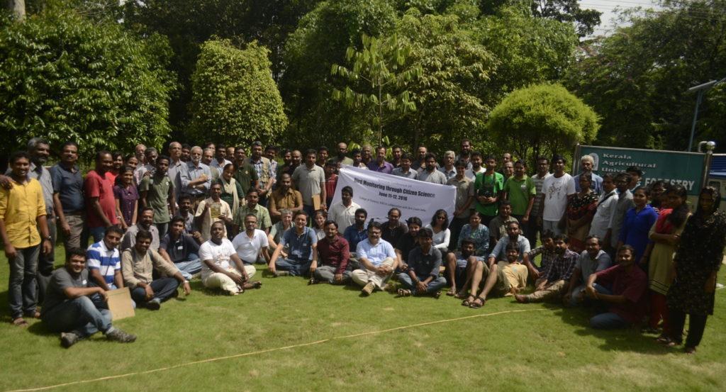 Kerala Bird Monitoring Workshop Participants