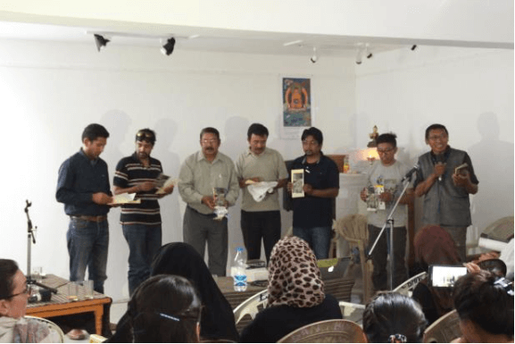 The release of the Pocket Guide to the Birds of Spiti and Ladakh