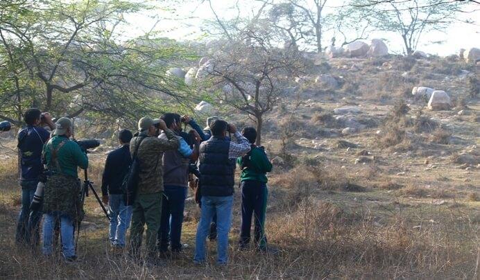 Bird-watching at Asola Wildlife Sanctuary