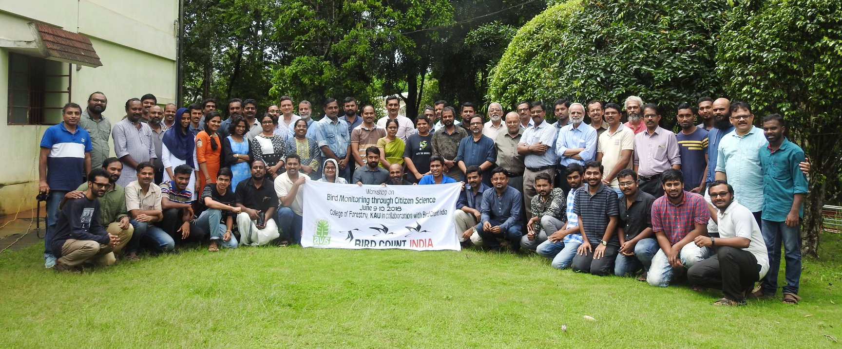 Kerala Bird Monitoring Workshop June 2018